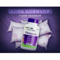 褪黑素Natrol Melatonin 5 mg., 250 Fast Dissolve Table