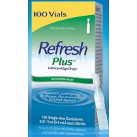 人工泪液Refresh Plus, 100 Single Use Containers