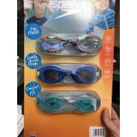 儿童游泳镜SPEEDO 3-8岁Speedo Goggle Kids Unisex, 3-pack