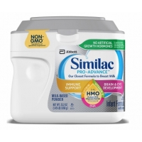 雅培一段银色罐装658g Similac Pro-Advance (HMO) Non-GMO Inf
