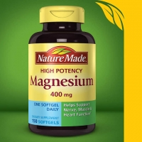 Nature Made高效镁片 Magnesium 400 mg., 150 Softgels