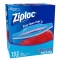Ziploc保鲜袋 152个 Ziploc Gallon Freezer Bags, 152-cou