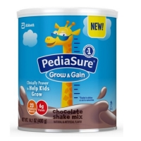 雅培小安素 巧克力味 pediasure powder chocolate-14.1oz