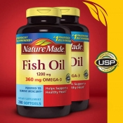 Nature Made  鱼油 Nature Made Fish Oil 1200 mg., 400