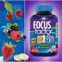儿童健脑维生素DHAFOCUSfactor Kids, 150 Chewable Tablets