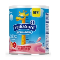 雅培小安素草莓味 pediasure powder strawberry-14.1oz