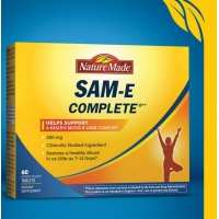 莱萃美 Nature Made SAM-E Complete 400 mg., 60 Tablets