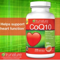Trunature  CoQ10 100 mg., 220 Softgels 辅酶