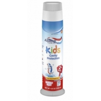 儿童牙膏Kids' Aquafresh Bubble Mint Pump Toothpaste -