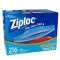 Ziploc Double Zipper Quart Freezer Bags, 216-count
