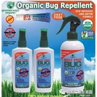 有机防虫喷雾Greenerways Organic Bug Repellent, 12oz + 2/